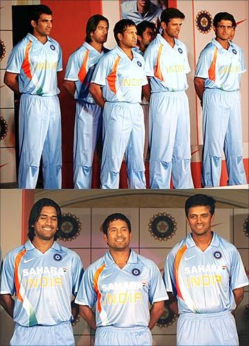 4707bb348 Nike unveils new Team India kit - Rediff.com Cricket