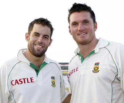 Neil McKenzie and Graeme Smith