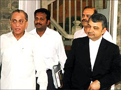 Dalmiya with his lawyer