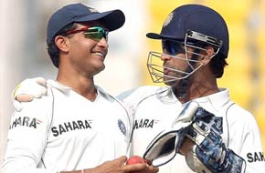 Sourav Ganguly's final Test
