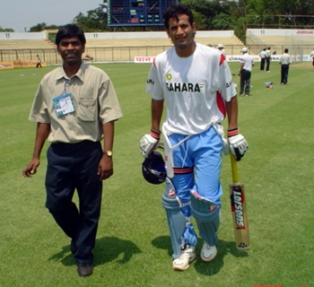 Irfan Pathan with Ramireddi