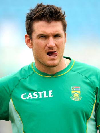 Graeme Smith after the match
