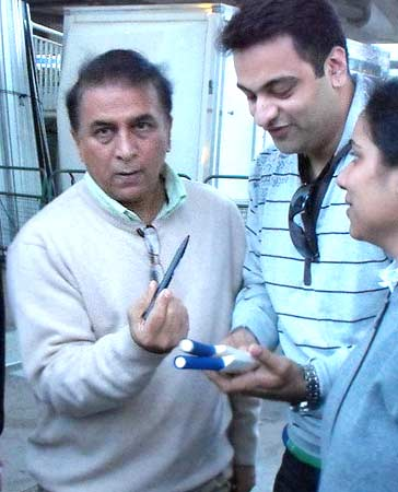 Sunil Gavaskar at Lord's