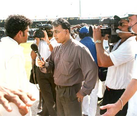 Sunil Gavaskar interviews Sachin Tendulkar