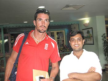 Kevin Pietersen in the West Indies