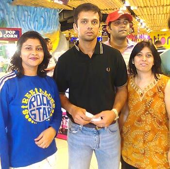 Rahul Dravid in Bangalore