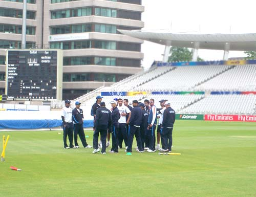 Team India practice session at Trent Bridge, Nottingham