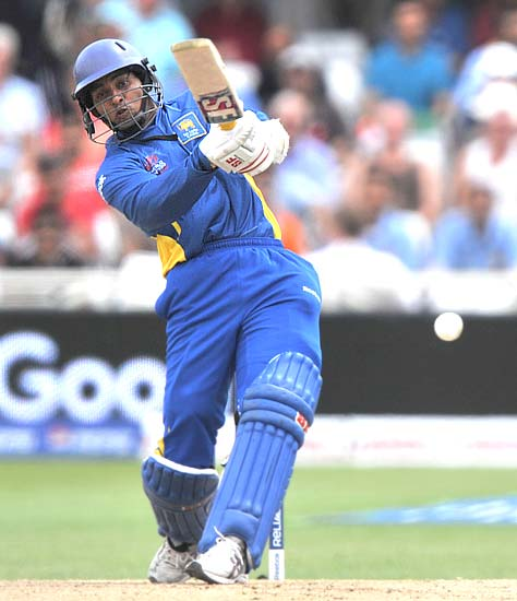 Tillakaratne Dilshan top scred with a knock of 48
