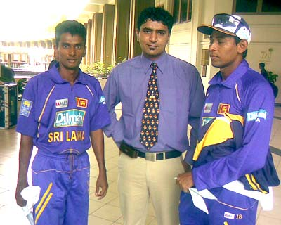 Upul Chandana and Tillakaratne Dilshan