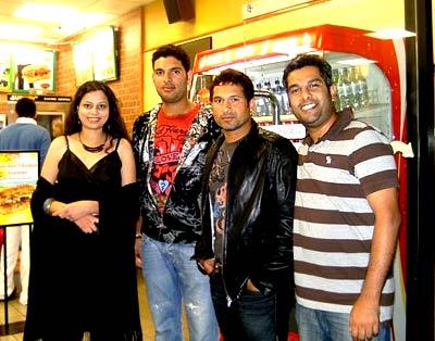 Sachin Tendulkar and Yuvraj Singh