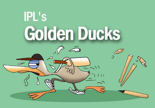 IPL's golden ducks
