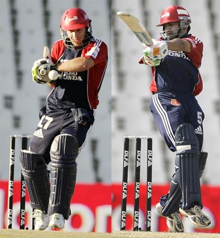 A B de Villiers and Gautam Gambhir