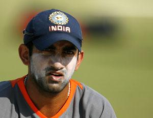 Delhi Daredevils captain Gautam Gambhir