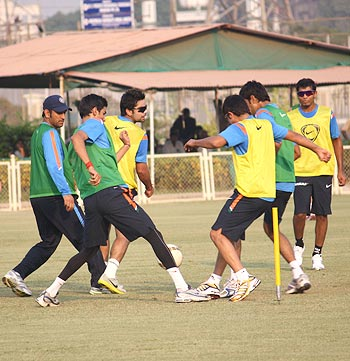 Delhi boys give practice a miss