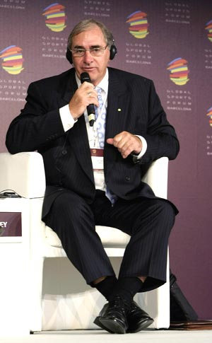 WADA boss John Fahey