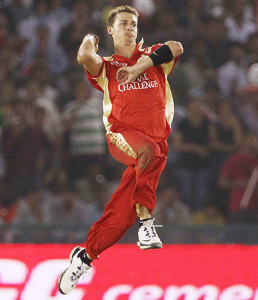 Dale Steyn of the Royal Challengers Bangalore