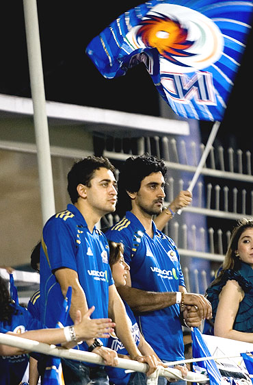 Actors Imran Khan and Kunal Kapoor at the Brabourne