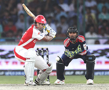 Kumar Sangakkara plays a cut shot