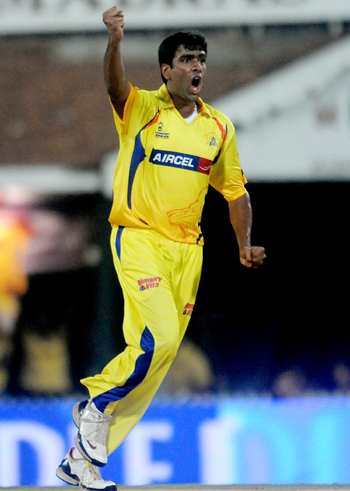 R Ashwin of the Chennai Super Kings