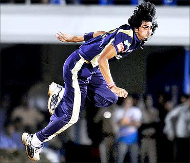 Ishant Sharma of Kolkata Knight Riders