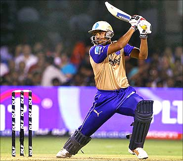 Yusuf Pathan of Rajasthan Royals