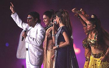AR Rehamn performs at DY Patil