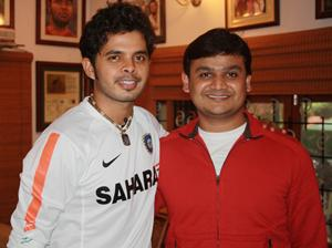 Sreesanth and Girish
