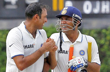 VVS Laxman and Virender Sehwag