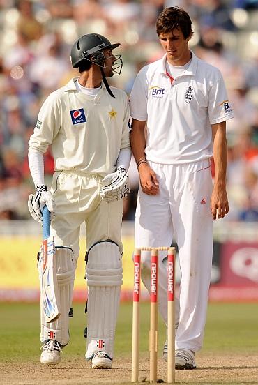 Zulqarnain Haider and Steve Finn