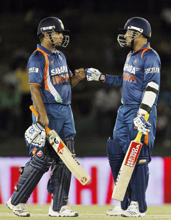 Suresh Raina and Virender Sehwag