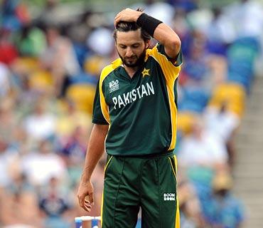 Pakistan ODI captain Shahid Afridi
