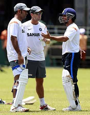 Sachin Tendulkar, Gary Kirsten