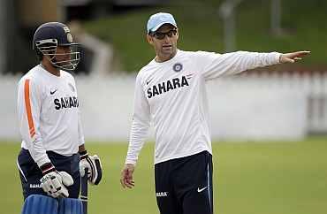 Gary Kirsten and Sachin Tendulkar