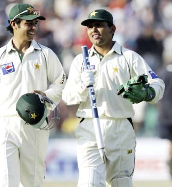 Salman Butt (left) and Kamran Akmal