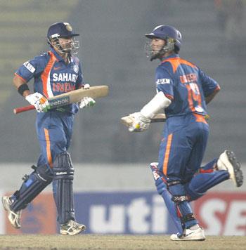 Gautam Gambhir and Dinesh Karthik