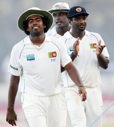 Malinga, Murali and Matthews