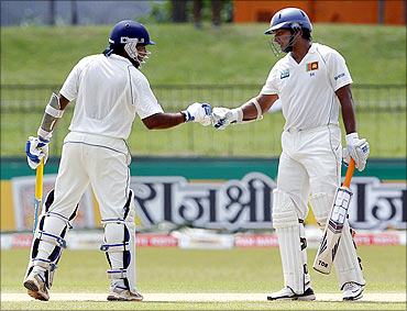 Jayawardene and Sangakkara