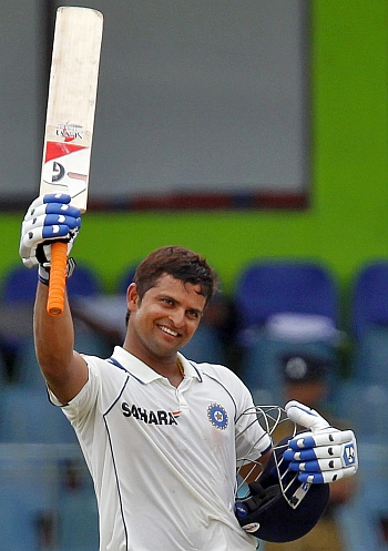 5 years later life comes full circle for raina rediff com sports