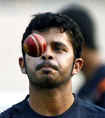 Rediff Cricket - Indian cricket - Sreesanth questions BCCI's intent over fighting corruption