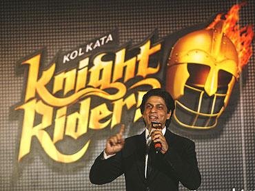 Kolkata Knightriders' owner Shah Rukh Khan