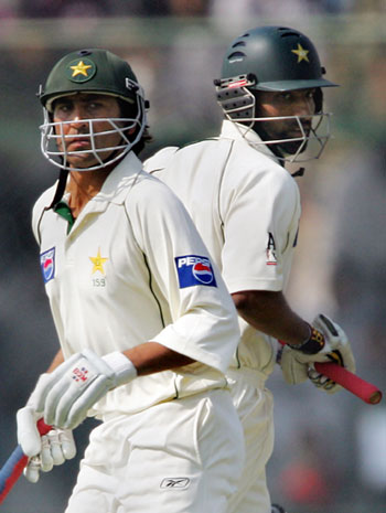 Younis Khan and Mohammad Yousuf