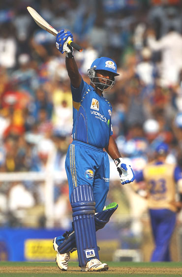 Ambati Rayudu celebrates after reaching half-century