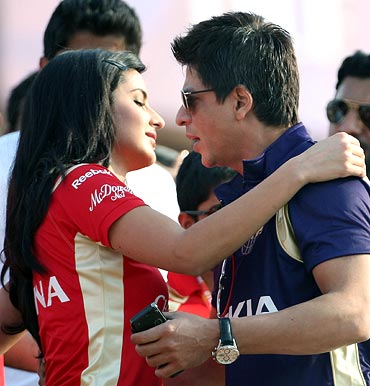 Shah Rukh Khan with Katrina Kaif