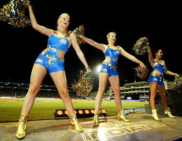 The Mumbai Indians cheerleaders