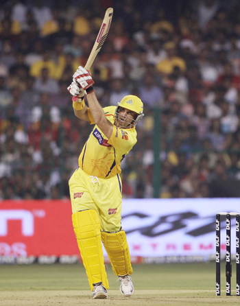 Matthew Hayden of Chennai hits out