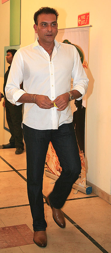 Ravi Shastri at an IPL party