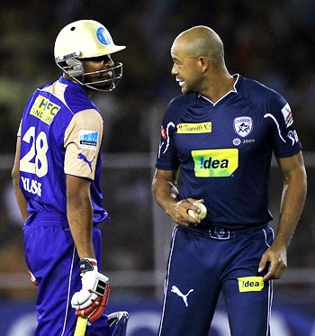 Yusuf Pathan and Andrew Symonds