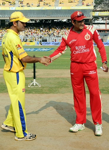 Mahendra Singh Dhoni and An