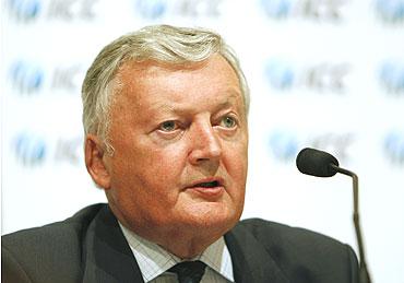 ICC president David Morgan