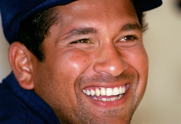 Tendulkar, sir your halo has just slipped